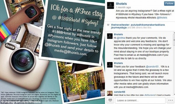 instagram hotel competition